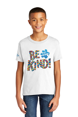 Image of Be Kind! It's Au-some - Gildan Softstyle® Youth Short Sleeve T-Shirt