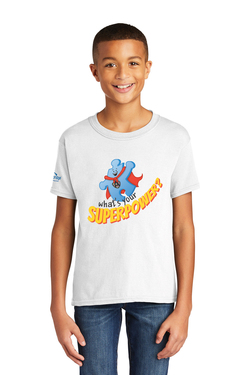 Image of What's your superpower - Gildan Softstyle® Youth Short Sleeve T-Shirt